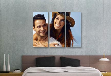 Hang your custom art.