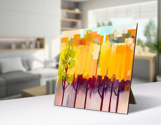 Abstract Landscape, Deskstop Accessory